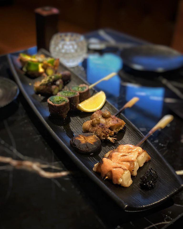 Dempsey Hil Restaurants - Bincho @ Min Jiang foodDempsey Hil Restaurants - Bincho @ Min Jiang food