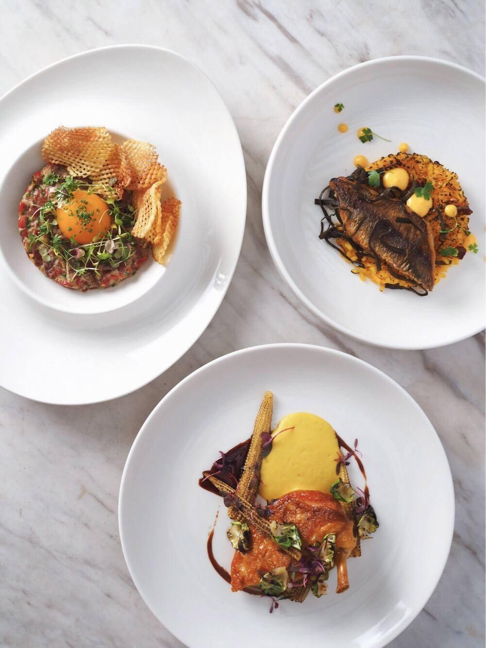 Dempsey Hil Restaurants - The White Rabbit food