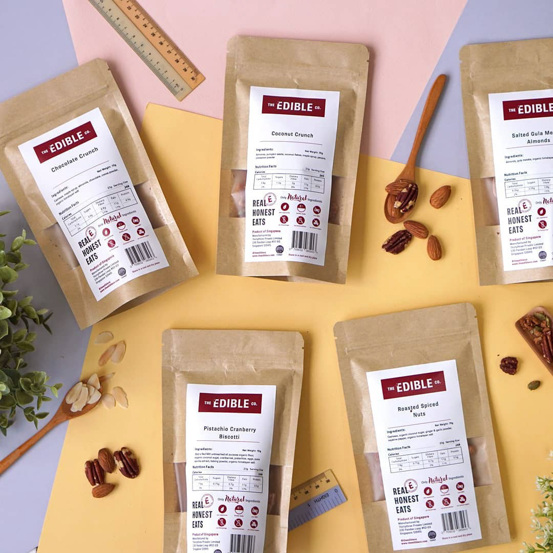Healthy food delivery services The Edible Co