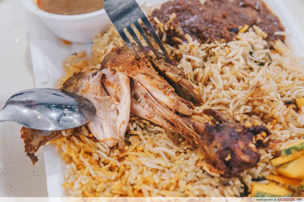 Nawab's Briyani Chicken
