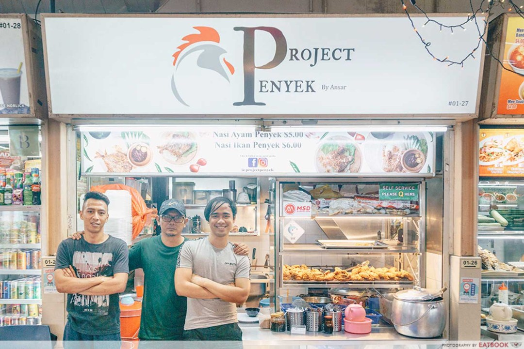 Project Penyek-Storefront shot with owners