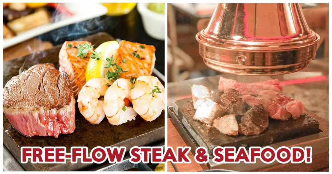Hot Stones Steak & Seafood 1-for-1 Buffet - Feature Image