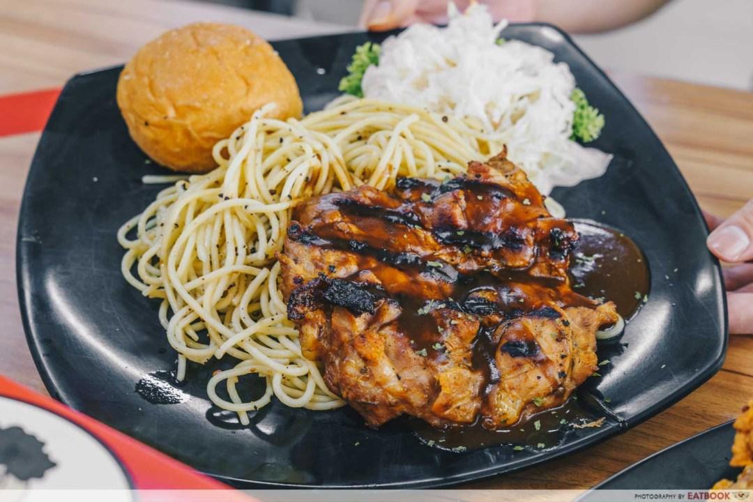 Abang Gemuk - Brown Sauce Chicken Chop