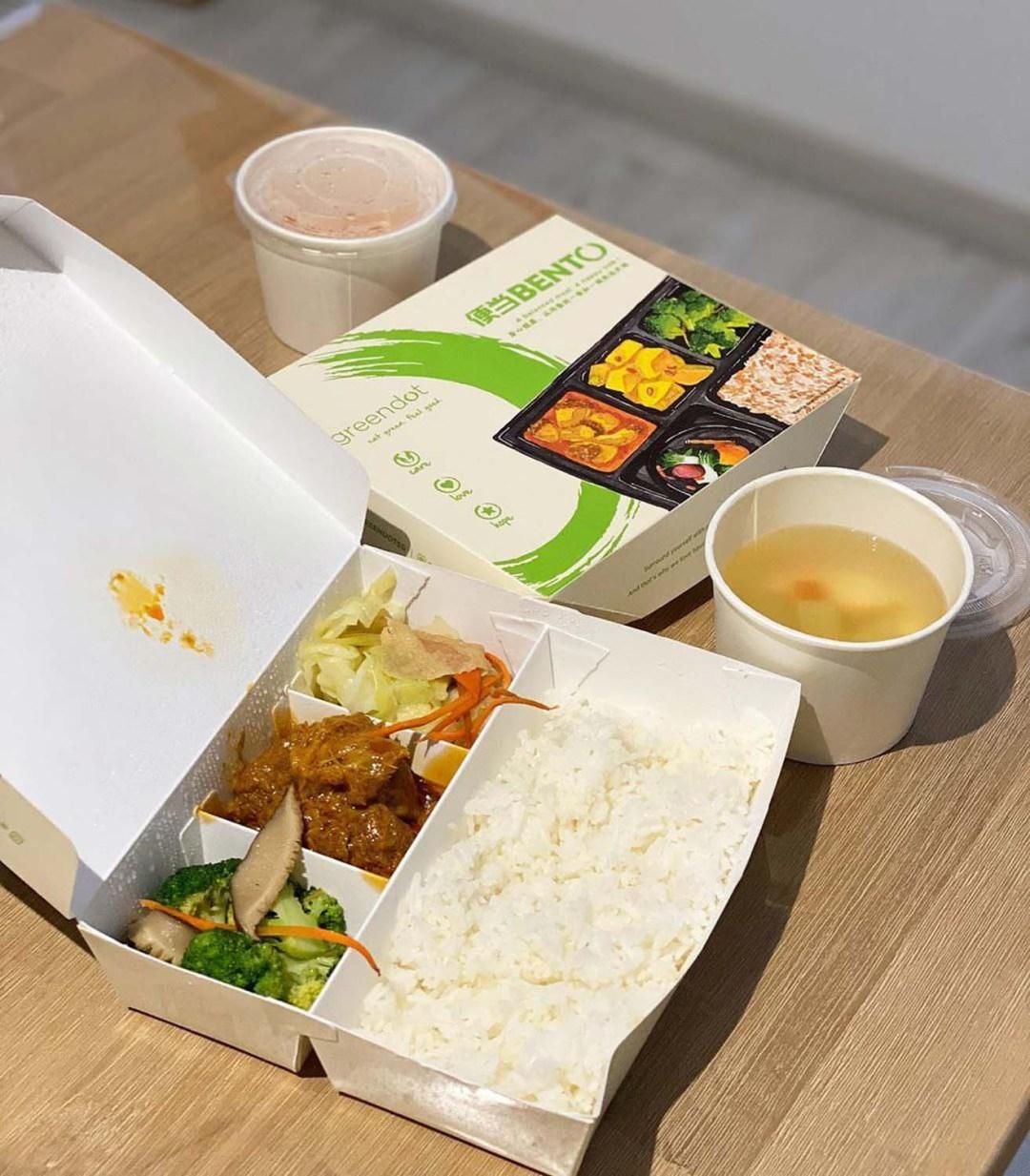 Healthy Food Delivery - Greendot