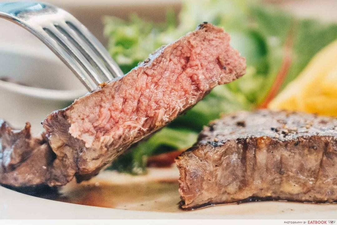 SteakGrill - NY Strip Steak close up