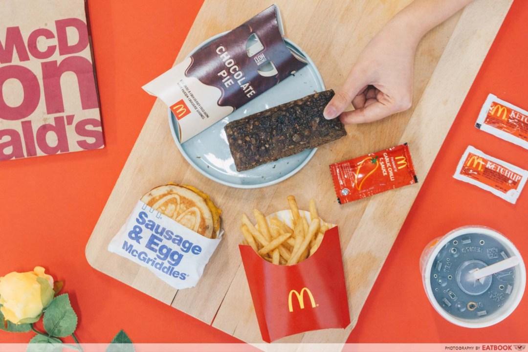McDonald's Crispy Chicken - McGriddles