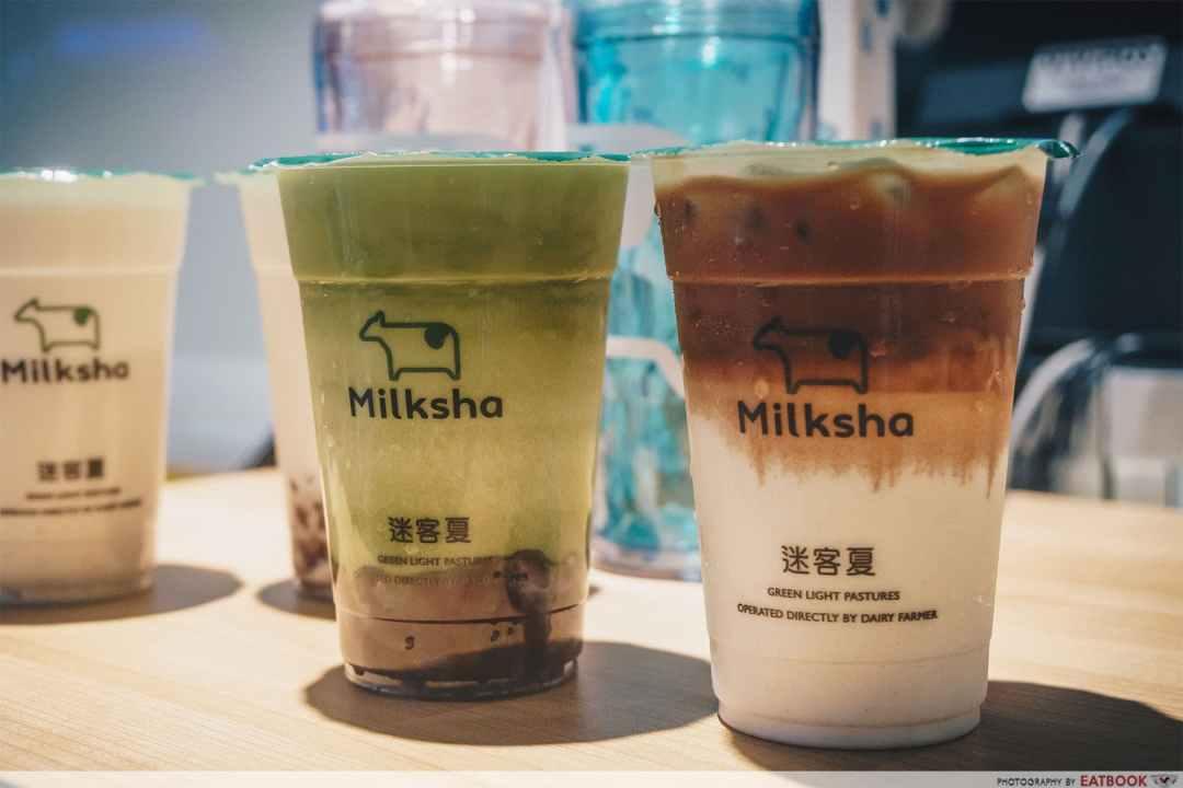 Milksha Islandwide Delivery - Milksha Latte