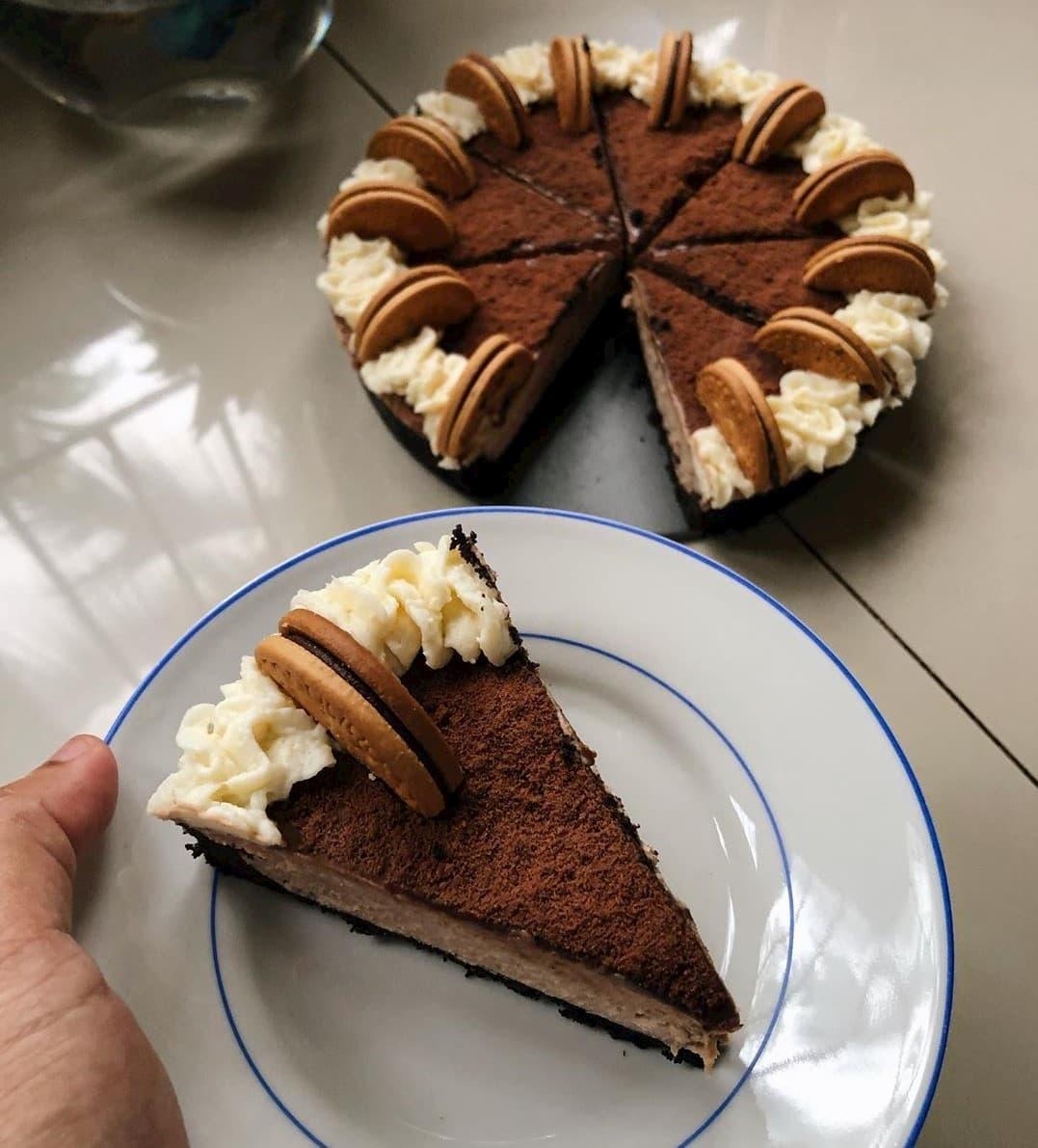 Milo Recipes - No-Bake Milo Cheesecake Slice