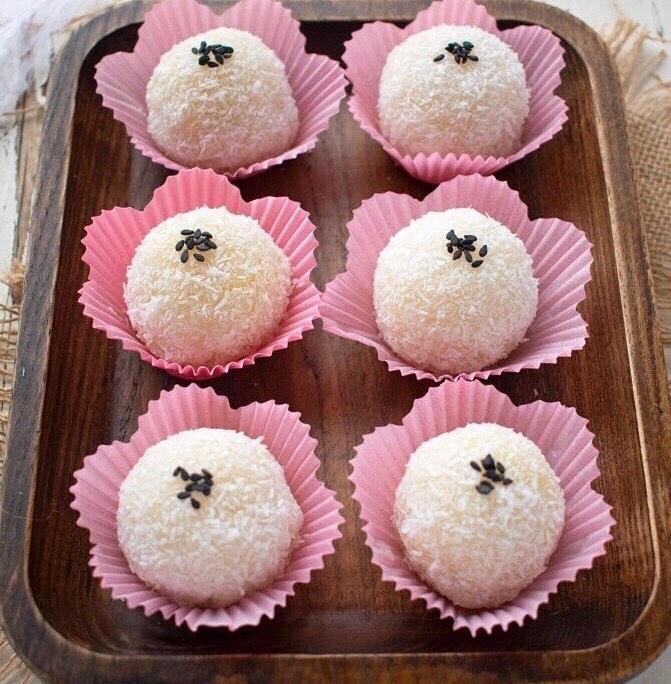 No-Bake Asian Desserts - Banh Bao Chi