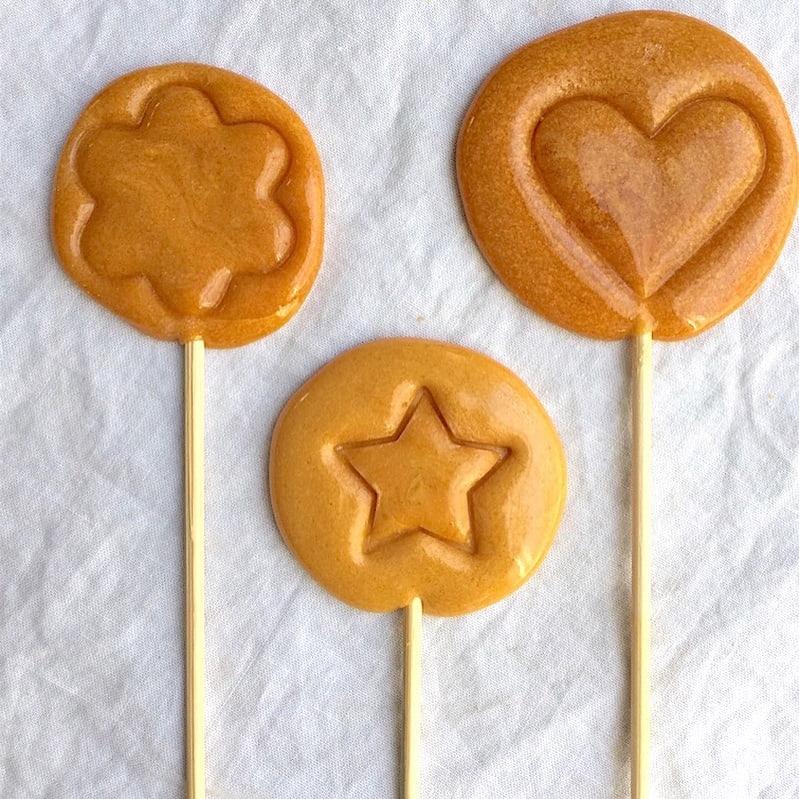 No-Bake Asian Desserts - Korean Dalgona Candy