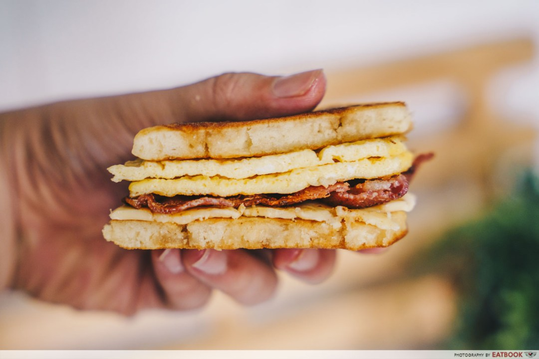Sandwich Recipes - Breakfast McGriddles