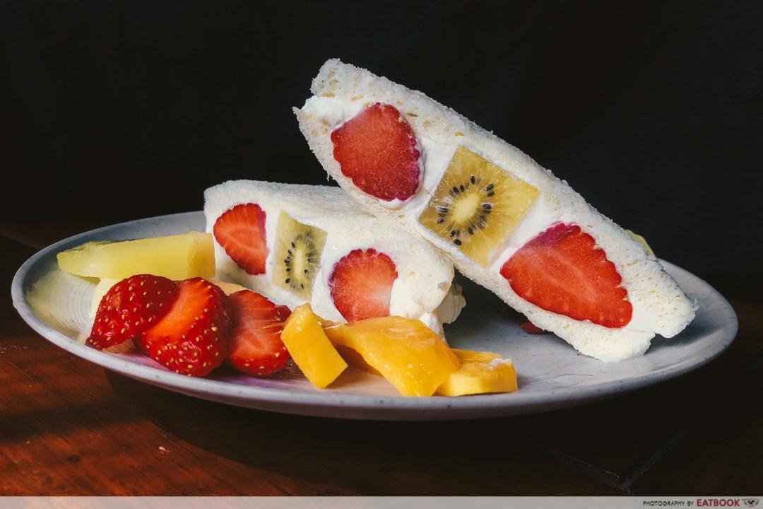Sandwich Recipes - Japanese Fruit Sandwich