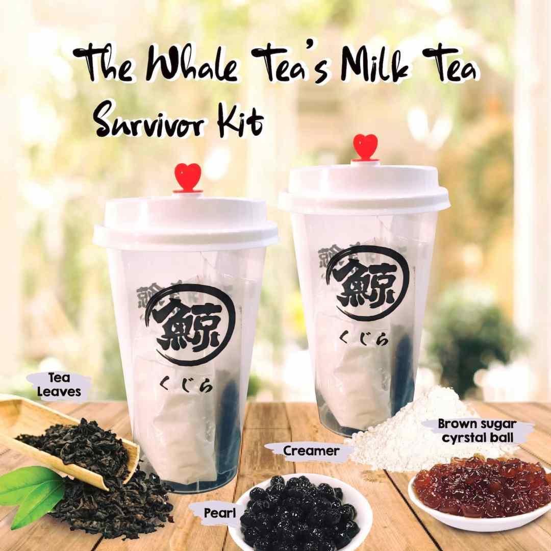 The Whale Tea DIY Bubble Tea Kits - Survival Kit