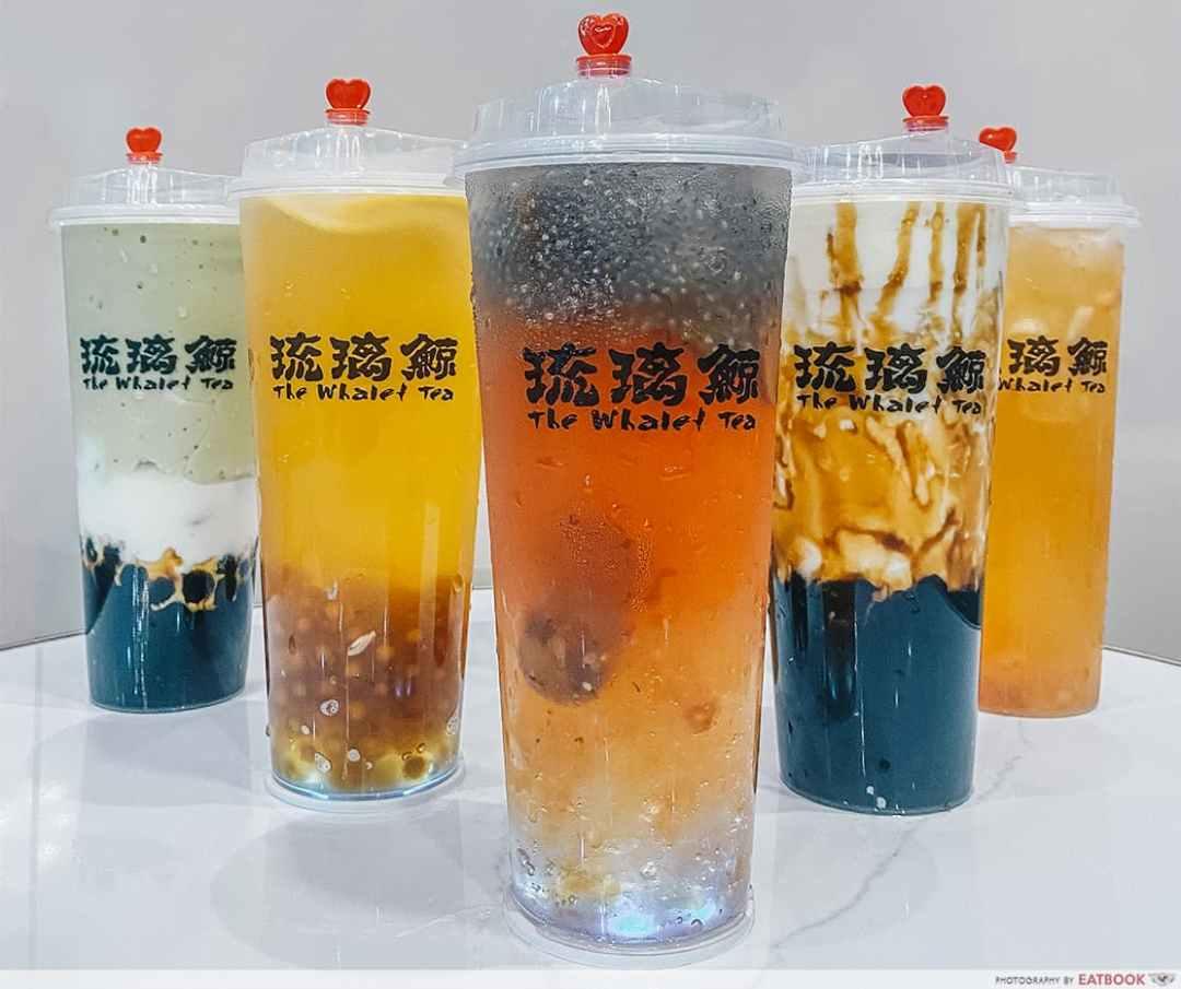 Whale Tea DIY Bubble Tea Kits - Drinks