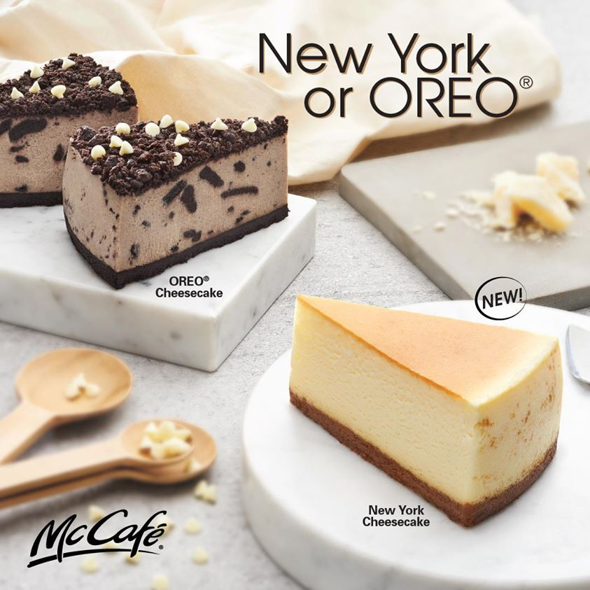 1-for-1 Cheesecake McDonald's - Cheesecakes