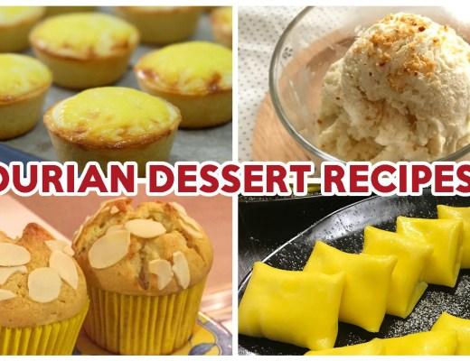 Durian Dessert Recipes - Feature Image