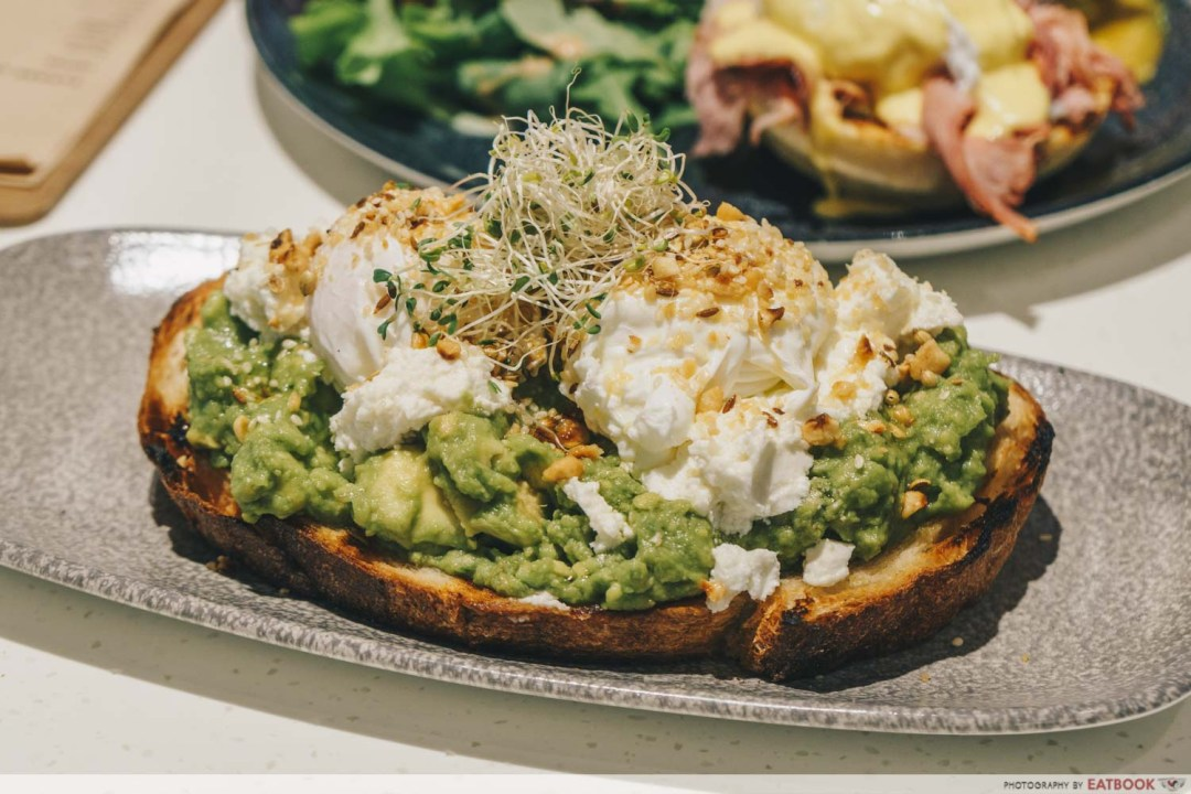 Little Farms Cafe - Smashed Avocado On Toast