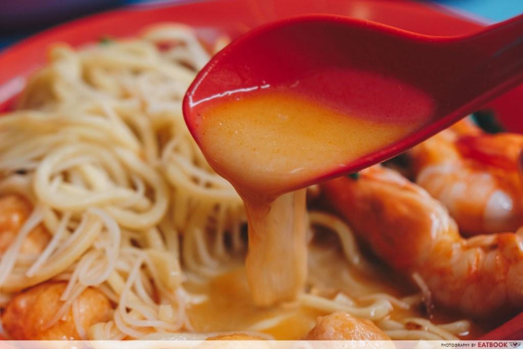 One Prawn Noodle soup