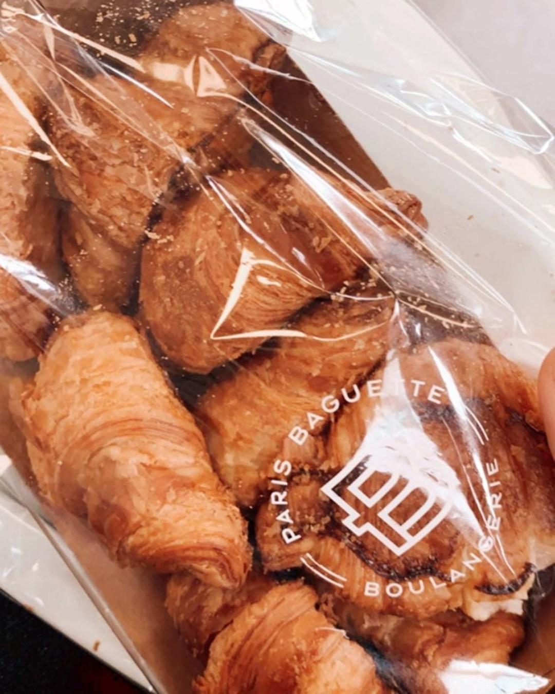 Paris Baguette 5-for-5 - mini croissants