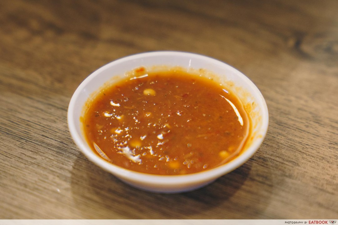 Try Fresh XO Seafood Noodles -Chilli sauce