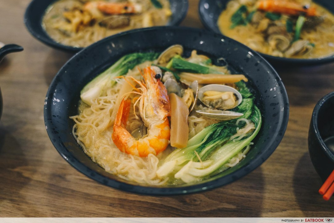 Try Fresh XO Seafood Noodles - XO Seafood Noodles intro shot