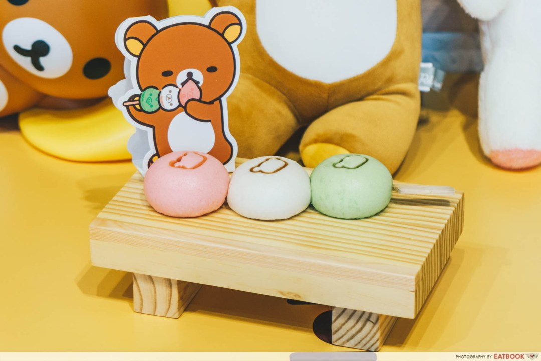 Dango Baos With Sweet Matcha