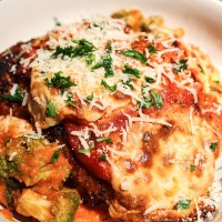 updating a classic recipe: drunken chicken parmesan