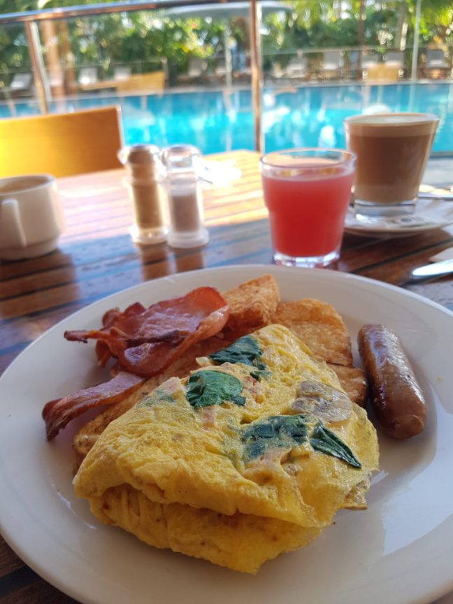 Breakfast at the Pool Terrace