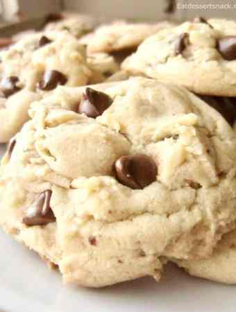 This classic chocolate chip pudding cookie recipe makes perfect, fluffy, chewy, and quick cookies that are still delicious days later.