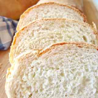 This recipe for Perfect Fluffy French Bread is my go-to bread recipe. It makes one loafand is easily doubled to make for a crowd.