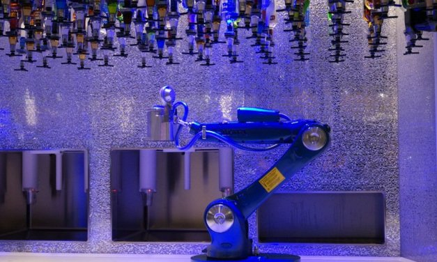 Royal Carribean's Bionic Bar is a world first