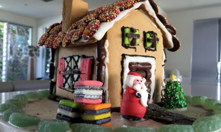 Have fun and make a gingerbread house