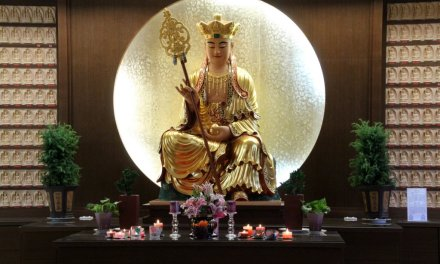 Discover a Buddhist temple at Logan
