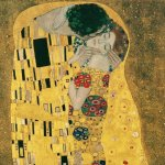 Put yourself in The Kiss with Gustav Klimt