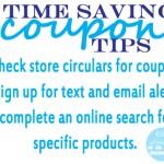 3 time-saving coupon tips