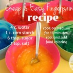 Cheap and Easy Finger Paint Recipe