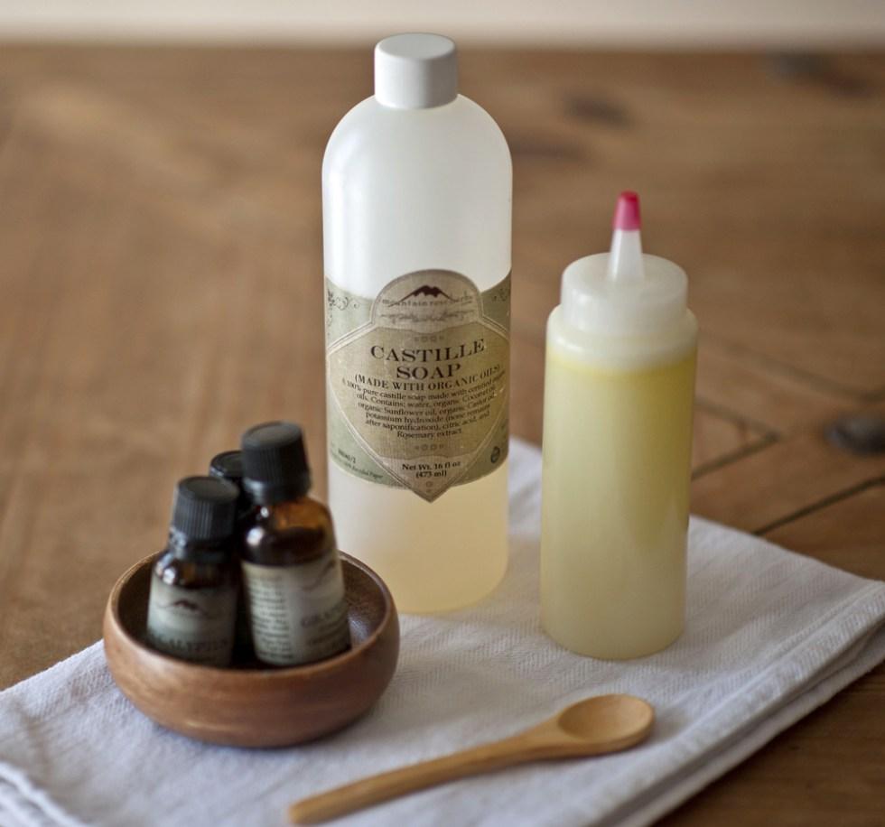 Solstice Handcrafted DIY facewash and body wash recipe