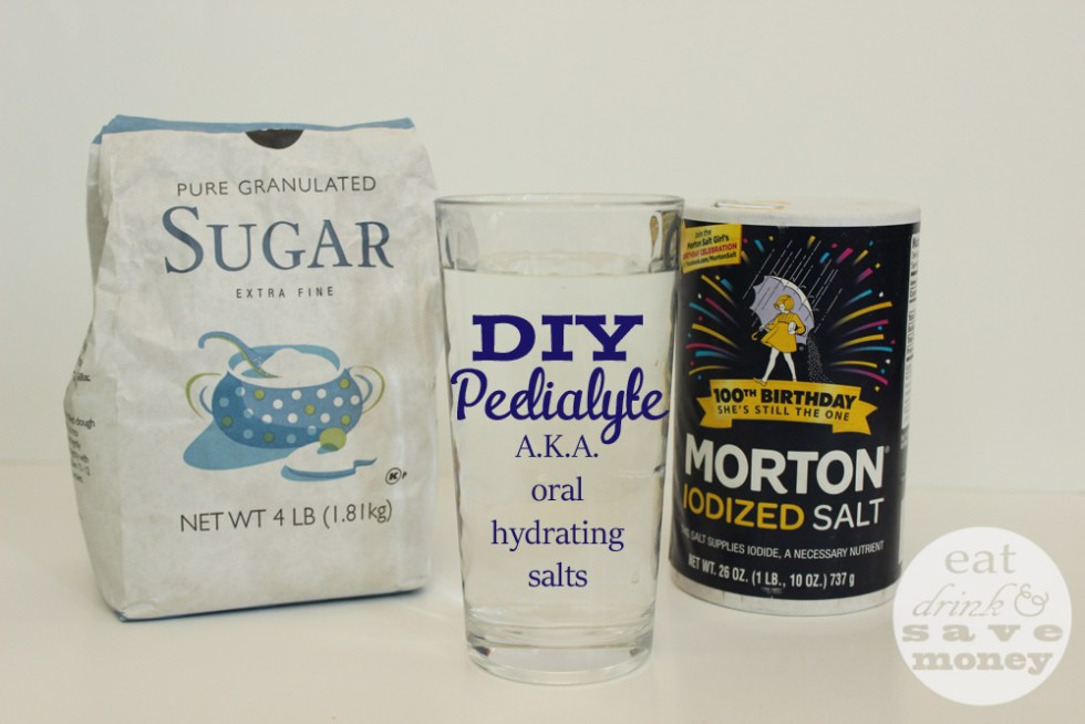 DIY pedialyte | Oral rehydrating salts