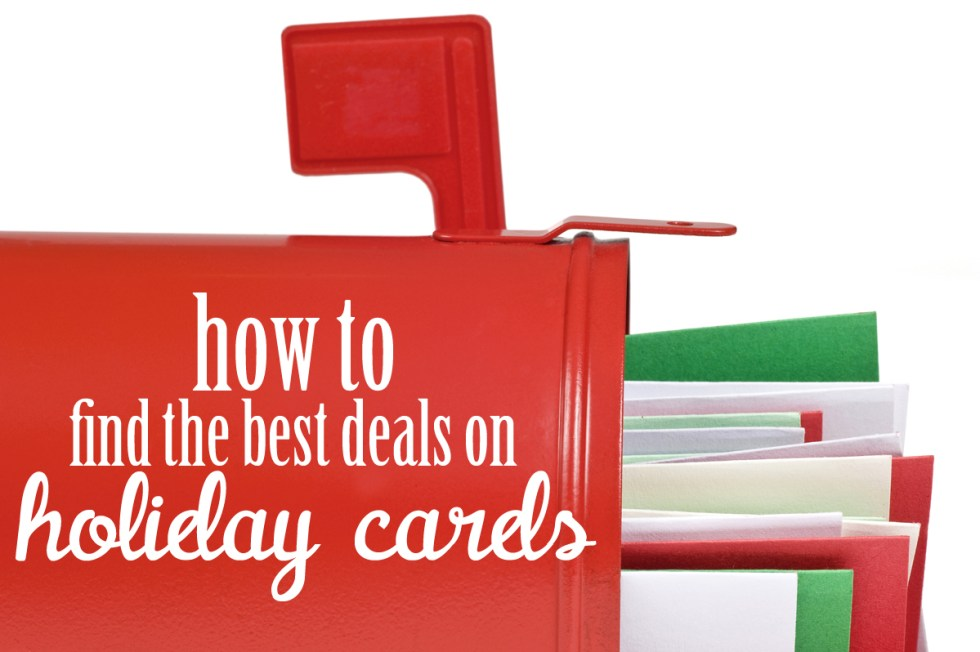 How to find the best deals on holiday cards