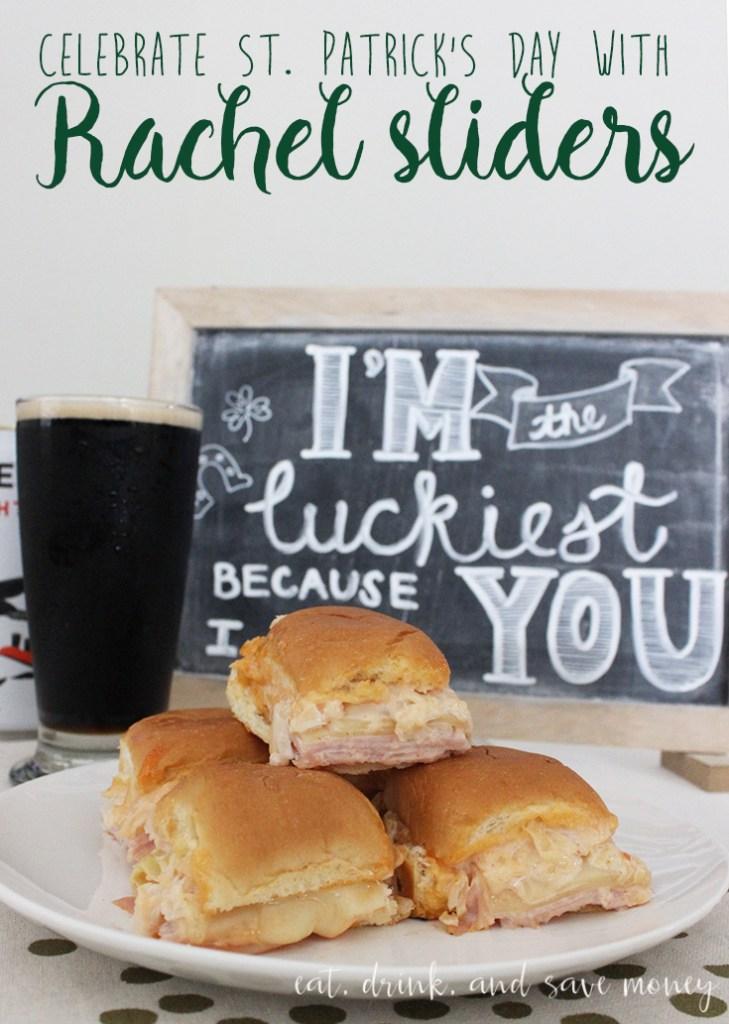 St. Patricks Day Rachel Sliders