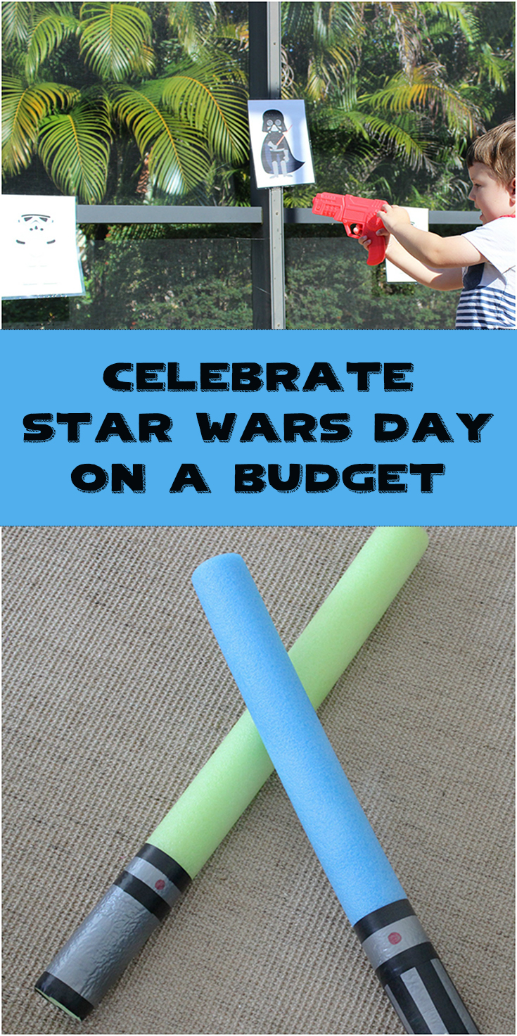 Celebrate Star Wars on a Budget