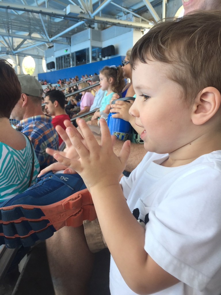 clapping for shamu