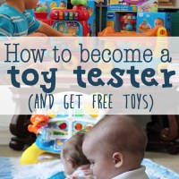 How to become a toy tester (and get free toys)