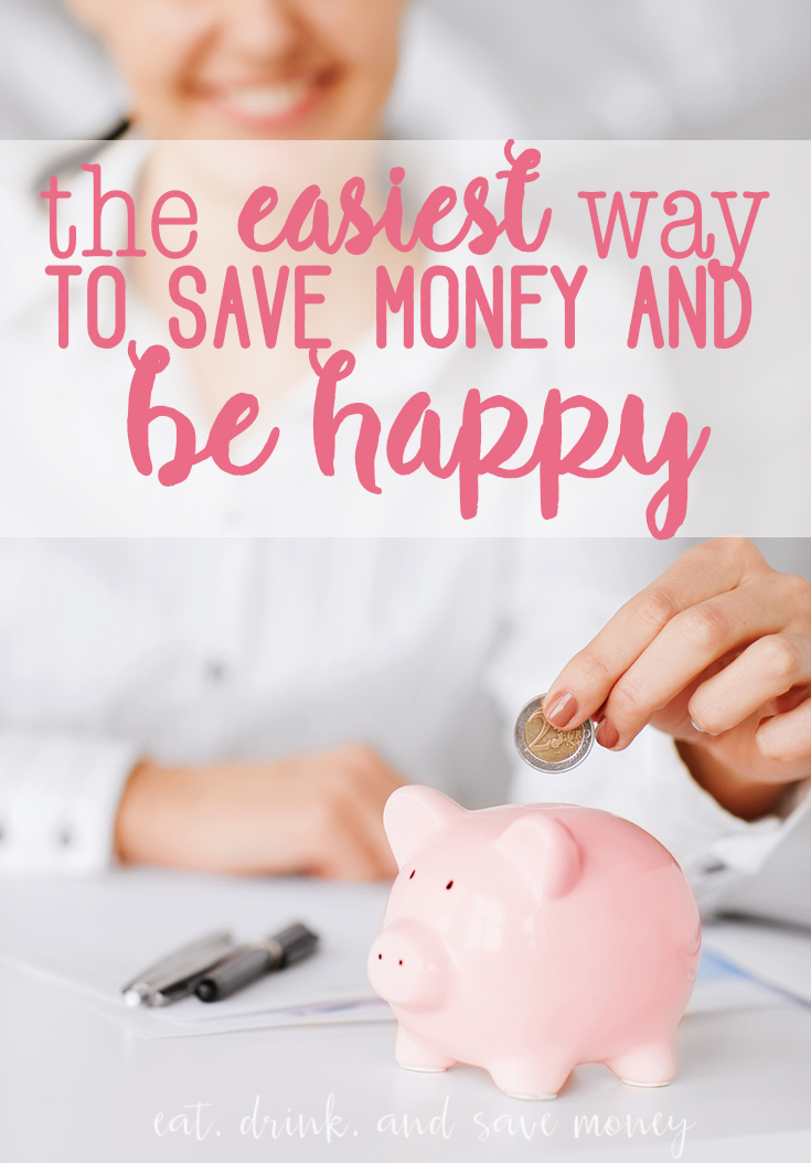 save money and be happy