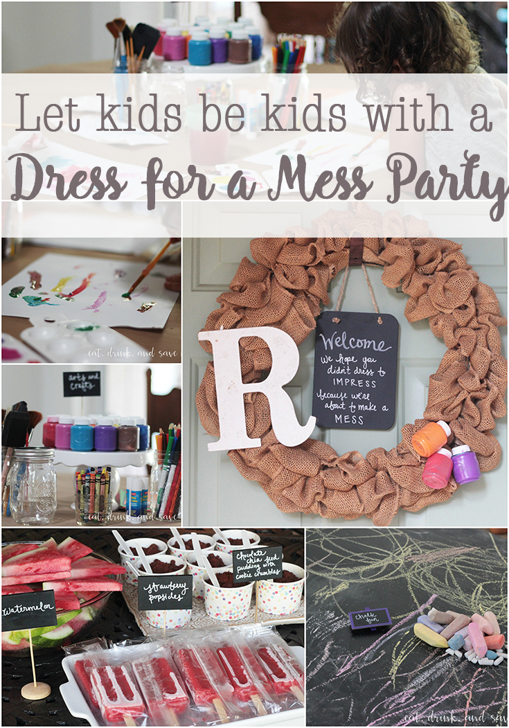 dress for a mess party