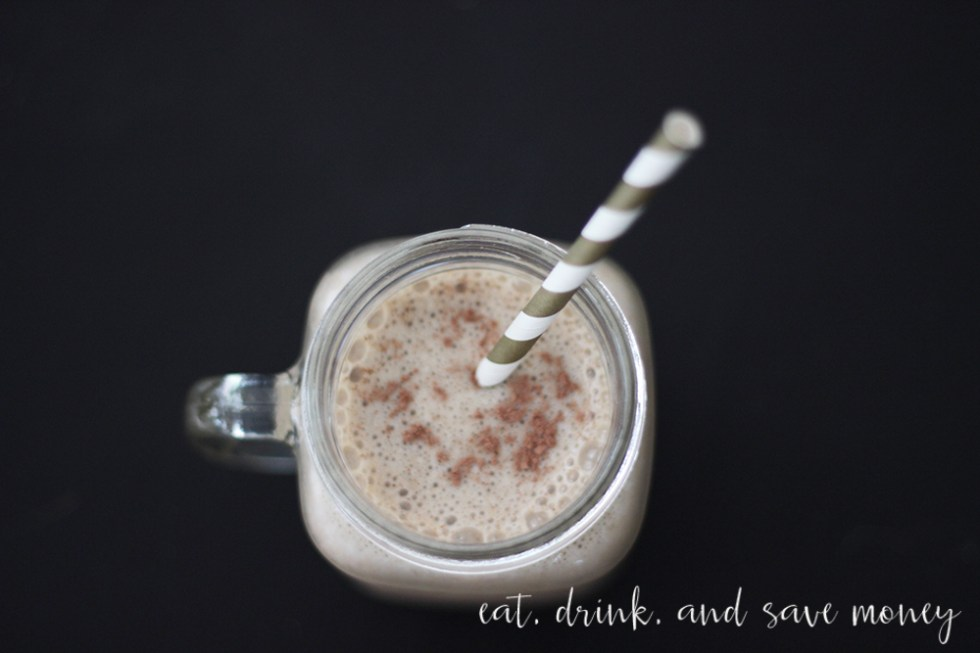 Iced coffee morning macchiato smoothie