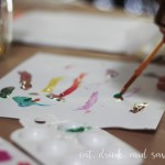 How to host a stress free preschooler painting party