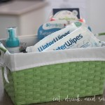 Chemical free baby shower gift basket (on a budget)