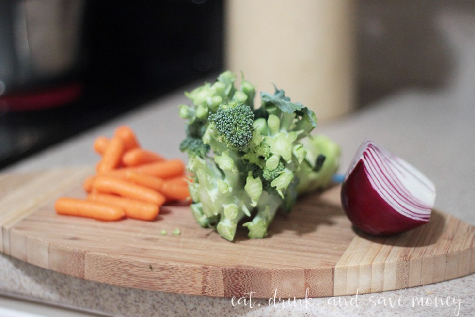 leftover veggies for soup