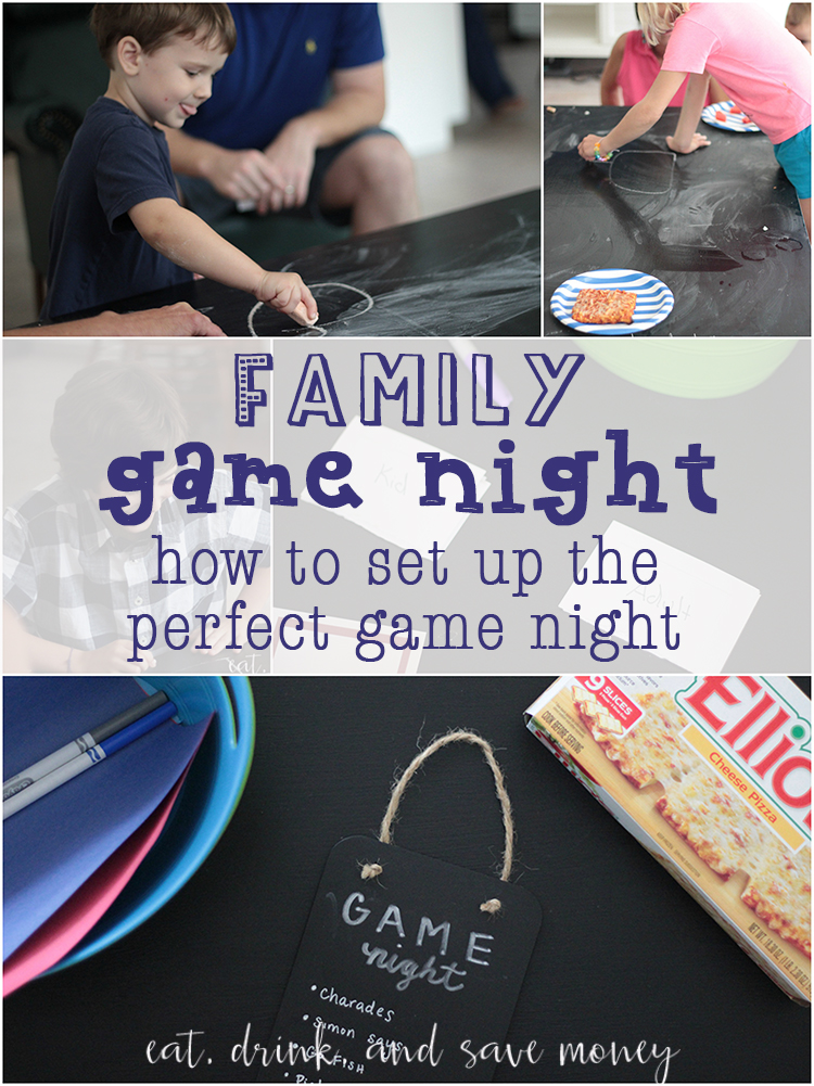 How to set up the perfect game night
